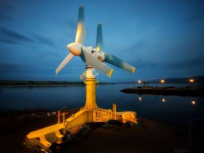Towards mitigation of impacts of marine renewable energy structures on the Environment